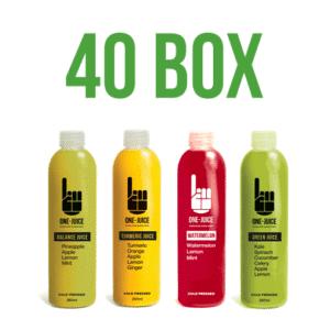rise and shine juice box 40
