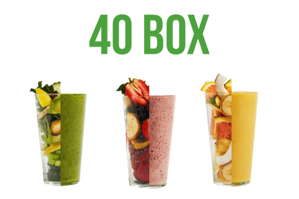 slimming smoothie box 40